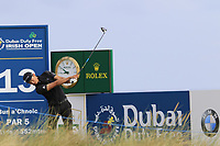 Haotong Li (CHN) tees off the 13th tee during Friday's Round 2 of the 2018 Dubai Duty Free Irish Open, held at Ballyliffin Golf Club, Ireland. 6th July 2018.<br /> Picture: Eoin Clarke | Golffile<br /> <br /> <br /> All photos usage must carry mandatory copyright credit (&copy; Golffile | Eoin Clarke)