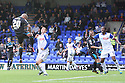 Jimmy Smith of Stevenage heads for goal<br />  - Tranmere Rovers v Stevenage - Sky Bet League One - Prenton Park, Birkenhead - 7th September 2013. <br /> © Kevin Coleman 2013