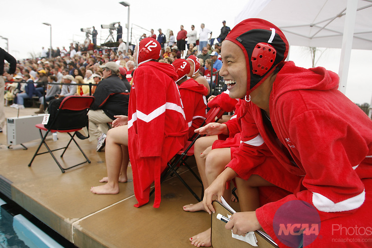 16 MAY 2010:  Stanford University takes on the University of Southern California during the Division I Women's Water Polo Championship held at the Aztec Aquaplex on the San Diego State University campus in San Diego, CA.  Jamie Schwaberow /NCAA Photos