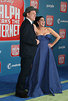 HOLLYWOOD, CA - NOVEMBER 5: John C. Reilly, Sarah Silverman, at Premiere Of Disney's &quot;Ralph Breaks The Internet&quot; at The El Capitan Theatre in Hollywood, California on November 5, 2018. <br /> CAP/MPI/FS<br /> &copy;FS/MPI/Capital Pictures
