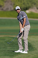 Zach Murray (AUS) on the 16th fairway during Round 3 of the Abu Dhabi HSBC Championship at the Abu Dhabi Golf Club, Abu Dhabi, United Arab Emirates. 18/01/2020<br /> Picture: Golffile | Thos Caffrey<br /> <br /> <br /> All photo usage must carry mandatory copyright credit (© Golffile | Thos Caffrey)