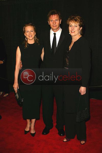 Laura Linney, Liam Neeson and Lynn Redgrave