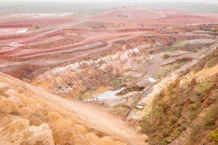 Sinosteel iron ore mine close to Morowa, Western Australia.