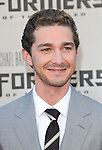 Shia LaBeou at The Premiere Of DreamWorks & Paramount's Transformers 2: Revenge Of The Fallen held at The Mann's Village Theatre in Westwood, California on June 22,2009                                                                     Copyright 2009 DVS / RockinExposures