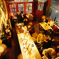 Netherlands, North Holland, Amsterdam: Brown Cafe - Interior (evening) | Niederlande, Nordholland, Amsterdam: Brown Cafe
