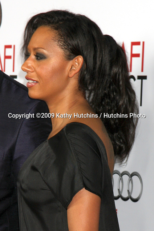 "Melanie Brown.Bad Lieutenant: Port of Call New Orleans"" AFI Festival Screening.Grauman's Chinese Theater.Hollywood,  CA.November 4, 2009.©2009 Kathy Hutchins / Hutchins Photo."