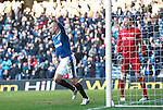 Kenny Miller celebrates his equaliser