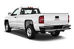 Car pictures of rear three quarter view of 2016 GMC Sierra-2500HD 2WD-Regular-Cab-Long-Box 2 Door Pick-up Angular Rear