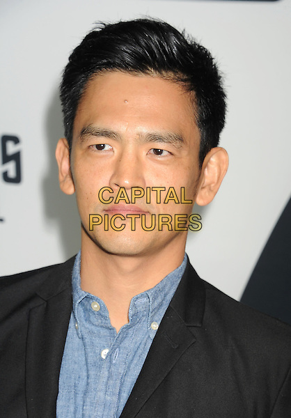 John Cho<br /> &quot;Star Trek Into Darkness&quot; DVD/Blu-Ray Release held at the California Science Center, Los Angeles, California, USA.<br /> September 10th, 2013<br /> headshot portrait jacket black blue shirt <br /> CAP/ROT/TM<br /> &copy;Tony Michaels/Roth Stock/Capital Pictures