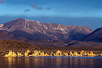 Sunrise Tufa State Reserve Mono Lake American Southwest California State USA