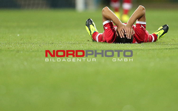 22.08.2013., Stadium Kantrida, Rijeka, Croatia - UEFA European League 4th qualifying round, HNK Rijeka - VfB Stuttgart. <br /> <br /> Foto &copy;  nph / PIXSELL / Igor Kralj