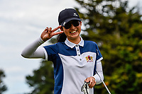 Zhuoyi Hu of Manawatu Wanganui. Toro New Zealand Womens Interprovincial Tournament, Waitikiri Golf Club, Christchurch, New Zealand, 4th December 2018. Photo:John Davidson/www.bwmedia.co.nz