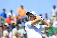 Ross Fisher (ENG) tees off the 1st tee to start his match during Friday's Round 2 of the 117th U.S. Open Championship 2017 held at Erin Hills, Erin, Wisconsin, USA. 16th June 2017.<br /> Picture: Eoin Clarke | Golffile<br /> <br /> <br /> All photos usage must carry mandatory copyright credit (&copy; Golffile | Eoin Clarke)
