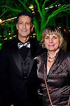 Barry Mandel and Susanne Thies at the Discovery Green Gala Saturday Feb 25,2012. (Dave Rossman/For the Chronicle)