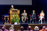 (Photo by Don Milici, Freelance)<br /> <br /> Fifty Year Club Meeting and Class of 1968 New Member Induction. This year, we celebrate Steffi Miller '64 P'93 P'96 P'96 with the Auld Lang Syne Award, and we thank Amy Munoz P'10 P'14 for her service to Oxy with the Io Triumphe Award. Thorne Hall.<br /> <br /> Occidental College hosts its annual Alumni Reunion Weekend, June 22-24, 2018 on campus. This year, alumni from the classes of 1968, 1973, 1978, 1983, 1988, 1993, 1998, 2003, 2008 and 2013 gathered to reconnect with friends and family in the Oxy community.<br /> <br /> (Photo by Don Milici, Freelance)