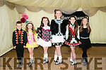 l-r  Sean Begley, Saoirce Begley, Aishling O'Donnell, Emma O'Donnell, Kayleigh Killeen and Donna Kiely dancers at the Kelly and Flynn family reunion in Skelper Quanes, Blennerville on Sunday
