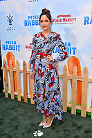 Rose Byrne at the world premiere for &quot;Peter Rabbit&quot; at The Grove, Los Angeles, USA 03 Feb. 2018<br /> Picture: Paul Smith/Featureflash/SilverHub 0208 004 5359 sales@silverhubmedia.com