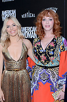 """LOS ANGELES - JUN 5:  Sienna Miller, Christina Hendricks at the """"American Woman"""" L.A. Premiere at the ArcLight Hollywood on June 5, 2019 in Los Angeles, CA"""