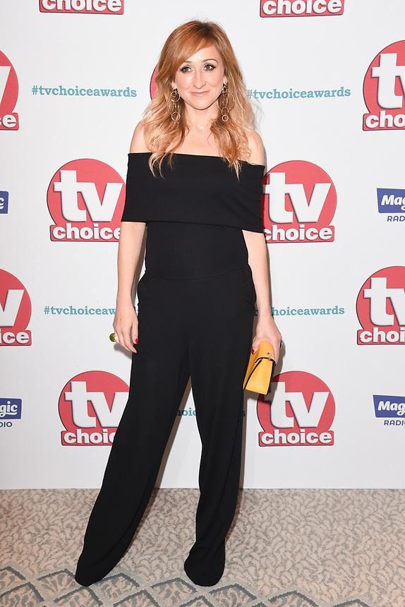 Charlotte Bellamy<br /> arriving for the TV Choice Awards 2017 at The Dorchester Hotel, London. <br /> <br /> <br /> ©Ash Knotek  D3303  04/09/2017