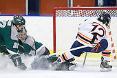 Chris Mohar (Plymouth State - 22), Jack Åstedt (Plymouth State - 30), Nick Lampson (Salem State - 12) - The visiting Plymouth State University Panthers defeated the Salem State University Vikings 3-2 on Thursday, December 1, 2011, at Rockett Arena in Salem, Massachusetts.