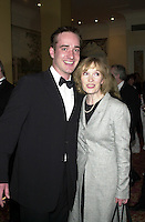 MATTHEW MacFADYEN & GUEST.Royal Television Society Awards, Grosvenor House, London, England 2002.CAP/HT.© Hugh Thompson/Capital Pictures
