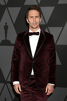 HOLLYWOOD, CA - NOVEMBER 11: Sam Rockwell at the AMPAS 9th Annual Governors Awards at the Dolby Ballroom in Hollywood, California on November 11, 2017. <br /> CAP/MPI/DE<br /> &copy;DE/MPI/Capital Pictures