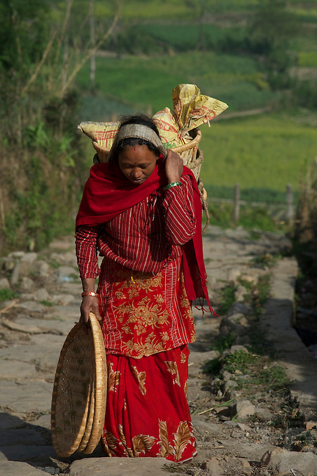 Nepal traditional vilages of Bugmati/Khokana, Lolitpur
