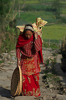 Nepal traditional vilages of Bugmati/Khokana, Lolitpur