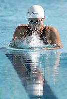 La giapponese Kanako Watanabe nuota i 200 metri rana donne durante la terza giornata del Trofeo Settecolli di nuoto al Foro Italico, Roma, 16 giugno 2012..Japan's Kanako Watanabe competes in the Women's 200 meters Breaststroke during the third day of the Seven Hills swimming trophy in Rome, 16 june 2012..UPDATE IMAGES PRESS/Riccardo De Luca