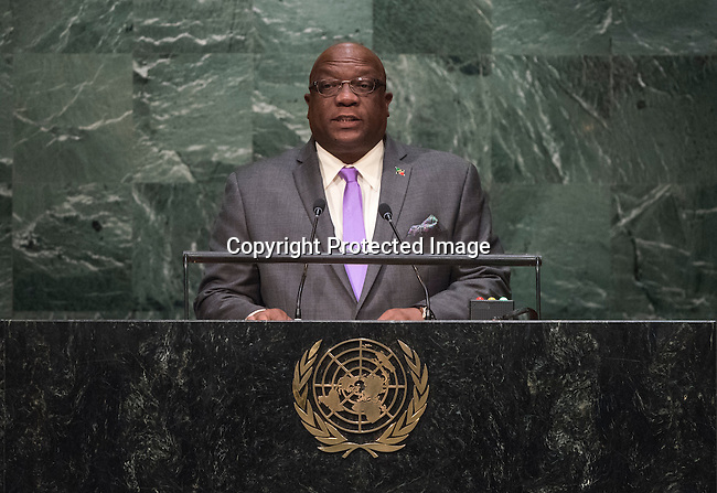 AINT KITTS AND NEVIS<br /> H.E. Timothy HARRIS Prime Minister<br /> General Assembly 70th session 25th plenary meeting<br /> Continuation of the General Debate