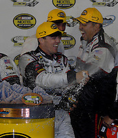 Apr 22, 2006; Phoenix, AZ, USA; Nascar Nextel Cup driver Kevin Harvick of the (29) GM Goodwrench Chevrolet Monte Carlo celebrates after winning the Subway Fresh 500 at Phoenix International Raceway. Mandatory Credit: Mark J. Rebilas-US PRESSWIRE Copyright © 2006 Mark J. Rebilas..
