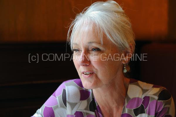 Flemish theatre and television actress Gilda de Bal (Belgium, 22/05/2008)