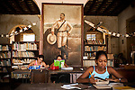 Cubans read and study at the library in Trinidad, Cuba, on Thursday, April 24, 2008. The Caribbean town of Trinidad is also an UNESCO World Hertiage site.