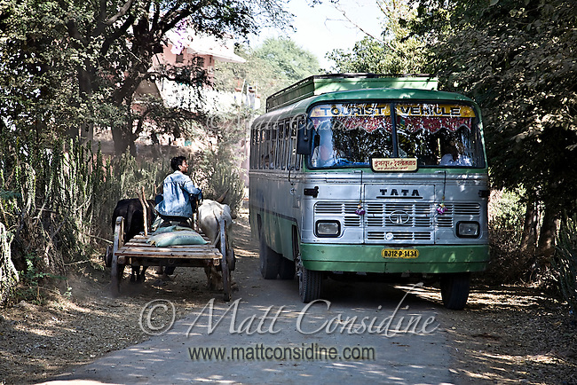 Although the bus says &quot;Tourist Vehicle&quot; it is actually used mostly by locals.<br /> (Photo by Matt Considine - Images of Asia Collection)