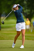 Luna Sobron Galmes (ESP) watches her tee shot on 12 during the round 1 of the KPMG Women's PGA Championship, Hazeltine National, Chaska, Minnesota, USA. 6/20/2019.<br /> Picture: Golffile | Ken Murray<br /> <br /> <br /> All photo usage must carry mandatory copyright credit (© Golffile | Ken Murray)
