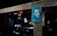Havana, 12 de Maio de 2011.....o mesmo ocorrendo com Fidel, aqui visto em outras época de sua vida..... Lo mismo ocurrió con Fidel Castro, visto aquí en otro momento de su vida..Foto: LEO DRUMOND / NITRO