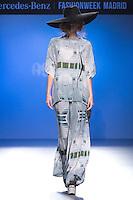 04.09.2012. Models walk the runway in the AS by Ana Sanchez fashion show during the EGO Mercedes-Benz Fashion Week Madrid Spring/Summer 2013 at Ifema. (Alterphotos/Marta Gonzalez) /NortePhoto.com<br /> <br /> **CREDITO*OBLIGATORIO** <br /> *No*Venta*A*Terceros*<br /> *No*Sale*So*third*<br /> *** No*Se*Permite*Hacer*Archivo**<br /> *No*Sale*So*third