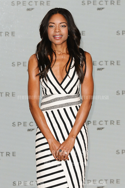 "Naomie Harris at the announcement of the start of filming on the new James Bond movie ""Spectre"" at Pinewood Studios, London. 04/12/2014 Picture by: Steve Vas / Featureflash"