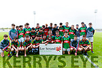 Lee Strand U16 County District Championship Football Plate Final winners Mid Kerry at Austin stacks park on Sunday