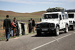 Road accident, Morocco