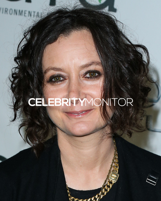 BURBANK, CA, USA - OCTOBER 18: Sara Gilbert arrives at the 2014 Environmental Media Awards held at Warner Bros. Studios on October 18, 2014 in Burbank, California, United States. (Photo by Xavier Collin/Celebrity Monitor)