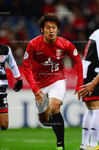 Toyofumi Sakano (Reds),.MARCH 12, 2013 - Football / Soccer :.AFC Champions League Group F match between Urawa Red Diamonds 4-1 Muangthong United at Saitama Stadium 2002 in Saitama, Japan. (Photo by AFLO)