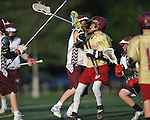 St. George's vs. Collierville in lacrosse in at W.C. Johnson Park in Collierville, Tenn. on Wednesday, May 4, 2016. Collierville won 8-2.