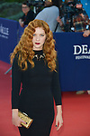 Rachelle Lefevre arrives at the 'Mr Holmes' Premiere red carpet during the 41st Deauville American Film Festival on September 10, 2015 in Deauville, France