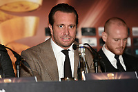 Kalle Sauerland during a Press Conference at the Landmark Hotel on 11th October 2017