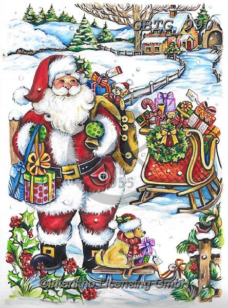 Theresa, CHRISTMAS SANTA, SNOWMAN, WEIHNACHTSMÄNNER, SCHNEEMÄNNER, PAPÁ NOEL, MUÑECOS DE NIEVE, paintings+++++,GBTG990,#x#