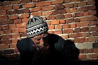 BULGARIA, Lazhnitsa, April 9, 2011. A Bulgarian muslim man is seen in the remote village of Lazhnitsa in the Rhodope Mountains. southern Bulgaria. Bulgarian Muslims, which today are nearly 8% of the country's population and the largest muslim minority community in the European Union, revived their cultural and religious traditions after the fall of communist regime in Bulgaria in 1989. .BULGARIE, Lazhnitsa, 9 Avril 2011. Un Bulgare de confession musulmane dans le petit village de Lazhnitsa dans les montagnes des Rhodopes en Bulgarie. La minorité musulmane qui représente aujourd'hui près de 8% de la population totale du pays et qui est la plus large majorité musulmane dans les pays de l'Union Européenne a ravive ses traditions culturelles et religieuse après la chute du régime communiste Bulgare en 1989.