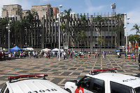 Santo Andre, SP,14 FEVEREIRO 2012-Movimnto de imprensa e publico  no Forum de Santo Andre. (FOTO: ADRIANO LIMA - NEWS FREE).