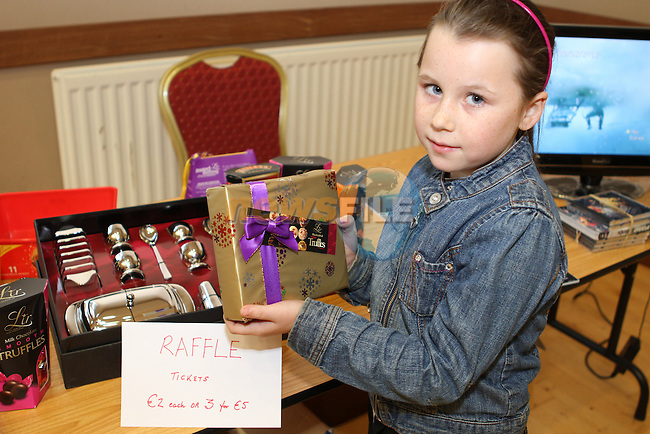 Kelsey Britton at the Lifeboat Coffee Morning and Cake Sale in St.Peters Parish Rooms..(Photo credit should read Jenny Matthews/NEWSFILE)...