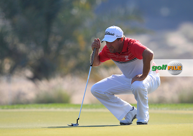 Darren FICHARDT (RSA) on the 8th green during Thursday's Round 2 of the 2015 Commercial Bank Qatar Masters held at Doha Golf Club, Doha, Qatar.: Picture Eoin Clarke, www.golffile.ie: 1/22/2015
